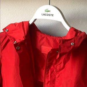 NWT Lacoste water repellent jacket